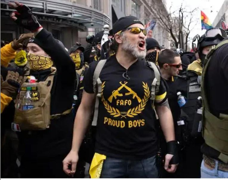 You read that right, the Proud Boys were formally declared a terrorist group by Canada.