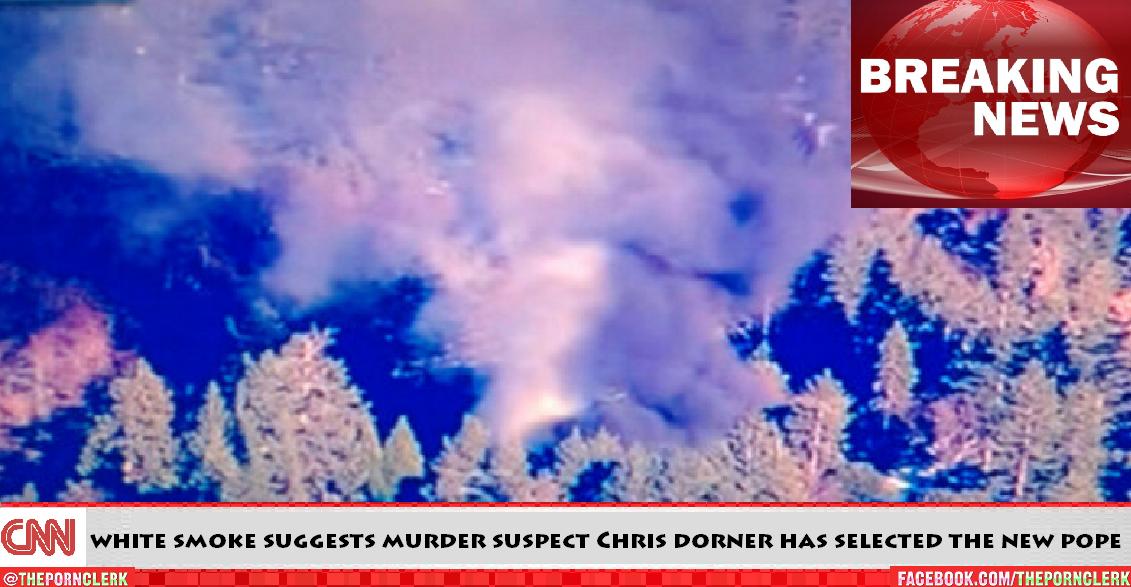 Murder suspect Chris Dorner has selected the new Pope.
