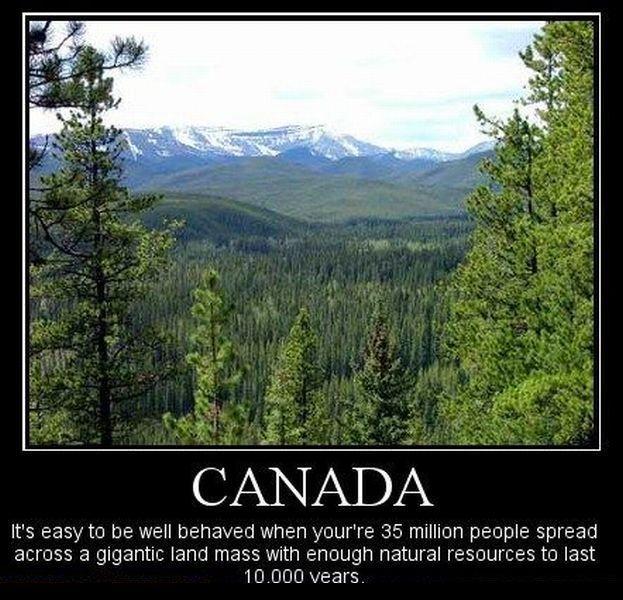 демотиватор про канаду что