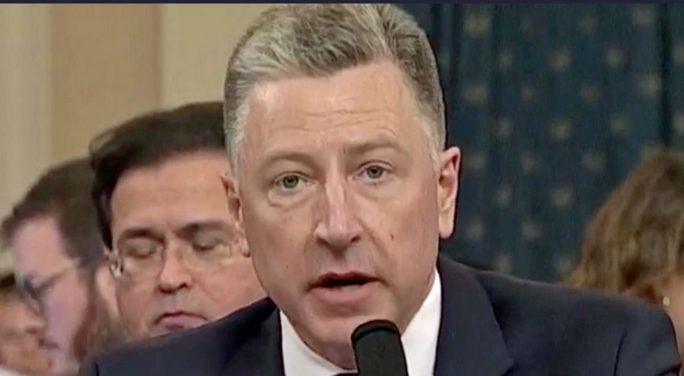 Volker told Congress he didn't know Trump wanted Ukraine to look into Biden. A tape recording has surfaced where he was on a call with Giuliani pressing Ukraine to do so. We all know Giuliani was marching on orders from Trump.