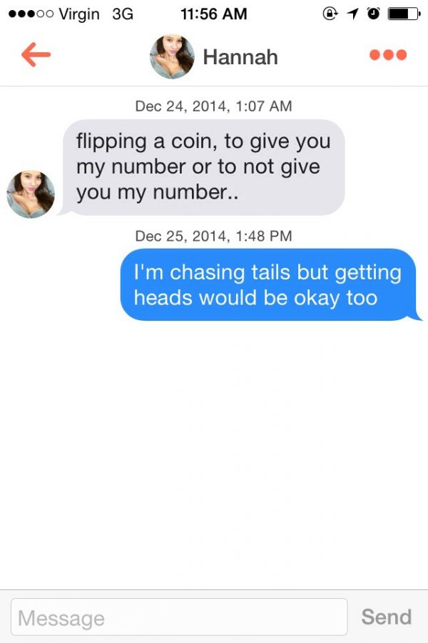 clever pick up lines for girls