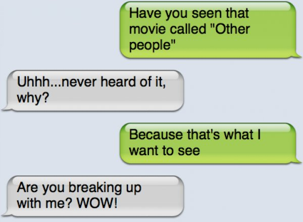 19 Painful Breakup Texts Gallery Ebaum S World