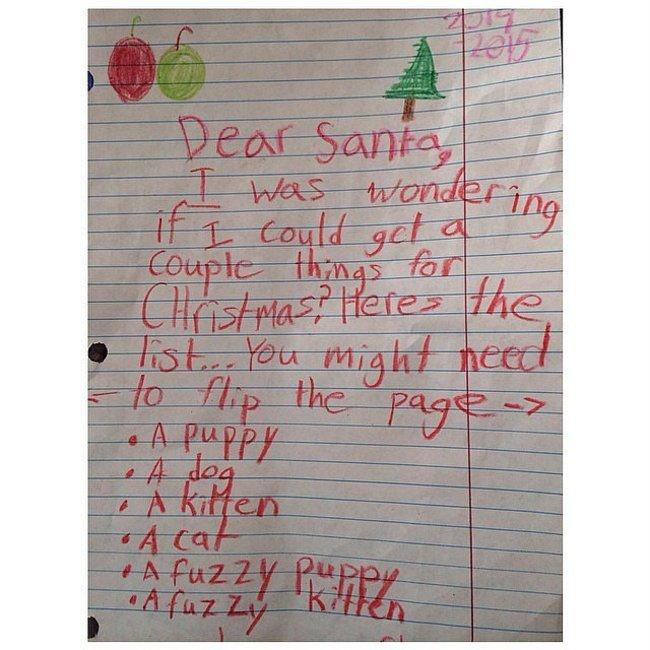 24 Funniest Notes Ever Left For Santa