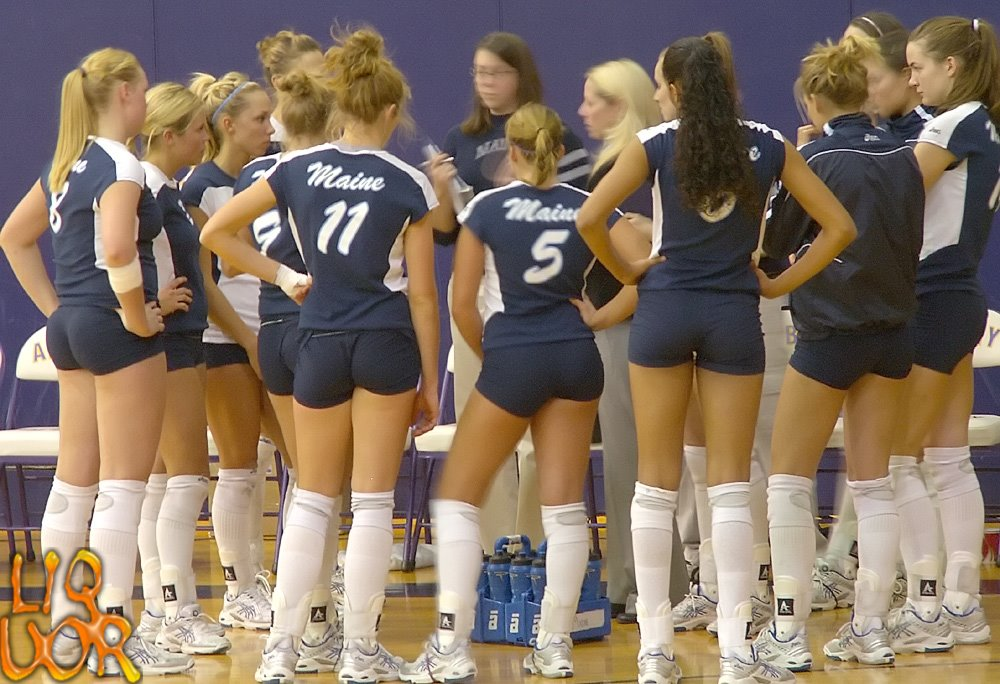 Girls Volleyball Nude