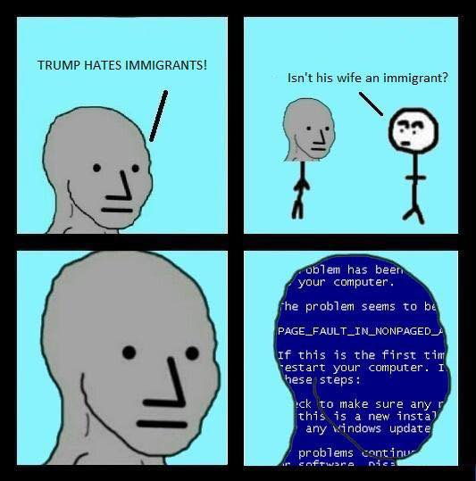 Image result for npc error meme