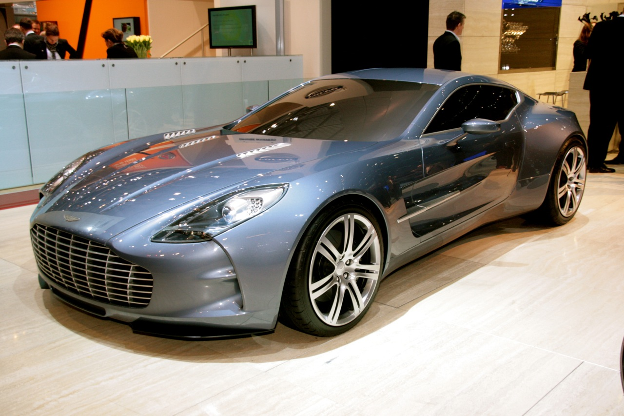 is the aston martin one - 77 the dominant super car. - gallery
