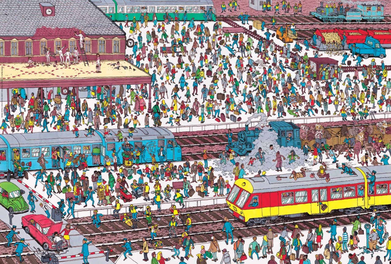 picture relating to Where's Waldo Pictures Printable referred to as Wheres Waldo? - Gallery eBaums Earth