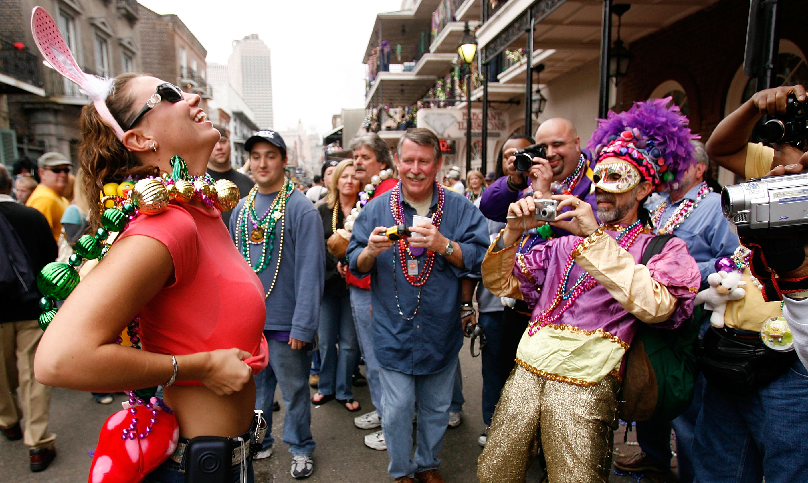 If You Didn T Know It S Mardi Gras In New Orleans