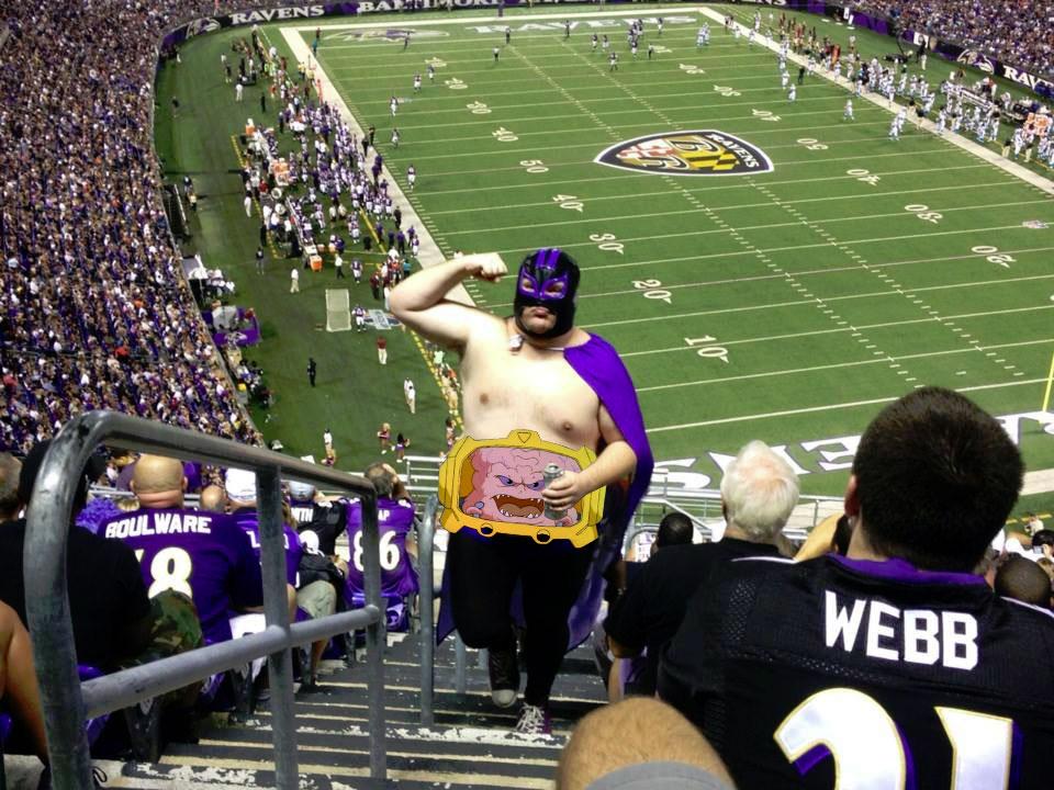 TMNT KRANG!  Super Bowl Chamions, Photoshop Contest #83