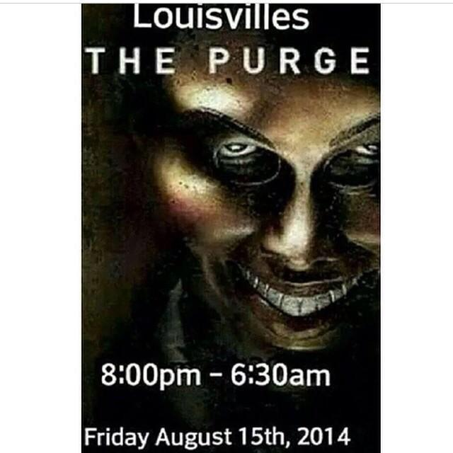8 PM to 6:30 AM Friday, August 15th, 2014