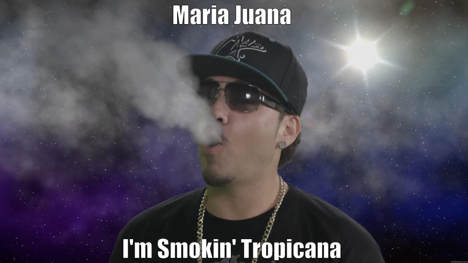 "Screenshot from the funniest weed video ever ""Maria Juana"" - Chingo Bling, Baby Bash, Down AKA Kilo, Big Tank Boss https://www.youtube.com/watch?v=GmjWS8Qt5nM"