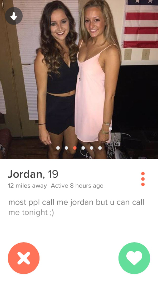 Better than tinder ad girl