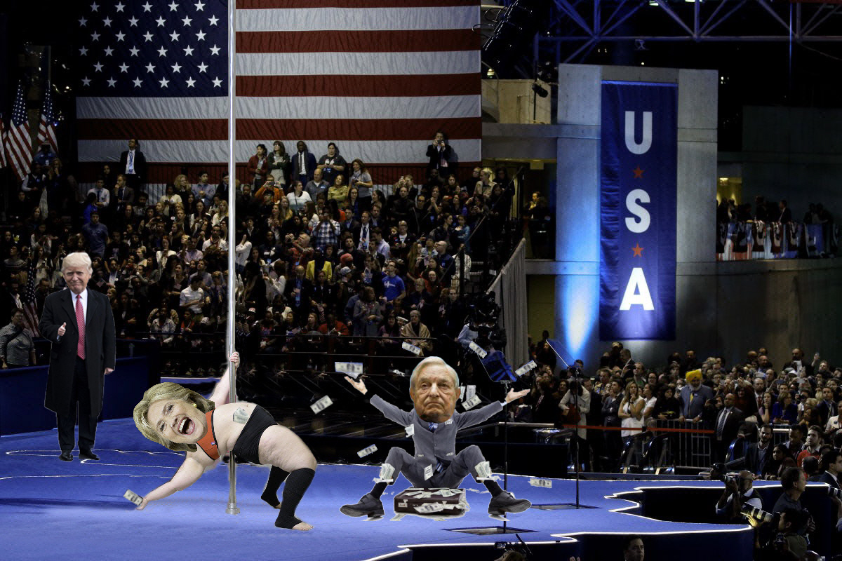 Soros is going broke making it rain for Hillary.
