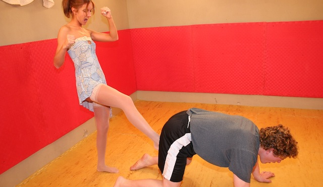 MARTINA: Women kicking men in the nuts