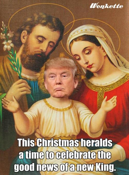 Is Trump the return of Jesus? - Wow Gallery   eBaum's World