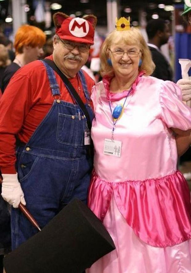 Senior citizen costume