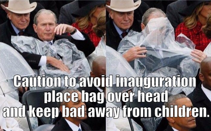 Bush trying to end it all!