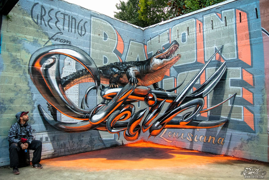 Really Cool Graffiti And Street Art Gallery Ebaums World