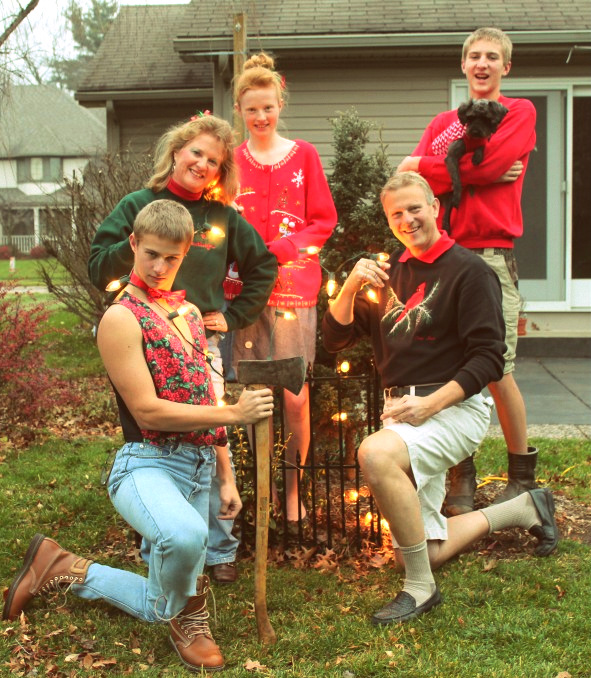 20 awkward family Christmas pictures - Gallery | eBaums World