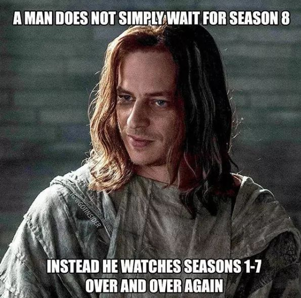 Brace Yourselves Game Of Thrones Season 8 Premiere Memes Are Coming