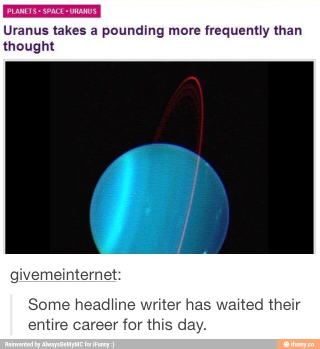 the time has come, for Uranus to be observed....