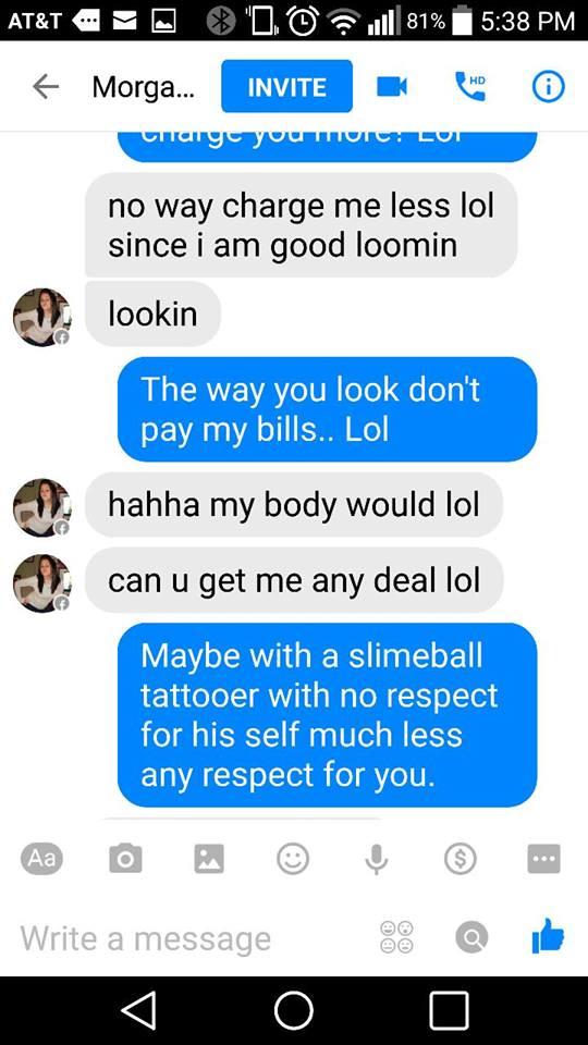 Trade sex for tattoos