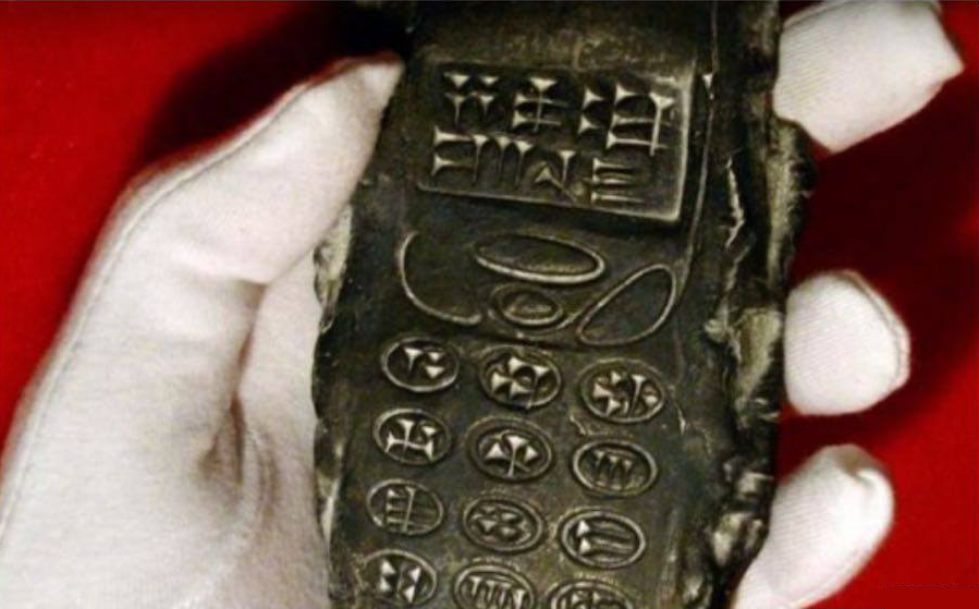 Bizarre claims that archaeologists have discovered an '800-year-old mobile phone' have sent conspiracy forums into overdrive.