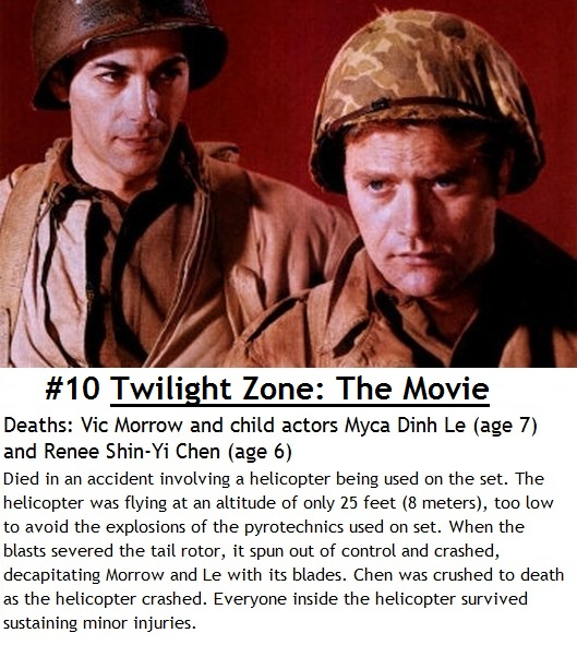 Top 10 Tragic Movie Set Deaths Wtf Gallery Ebaums World