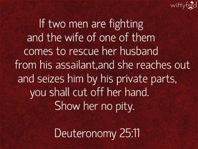 Weird Bible Verses 10