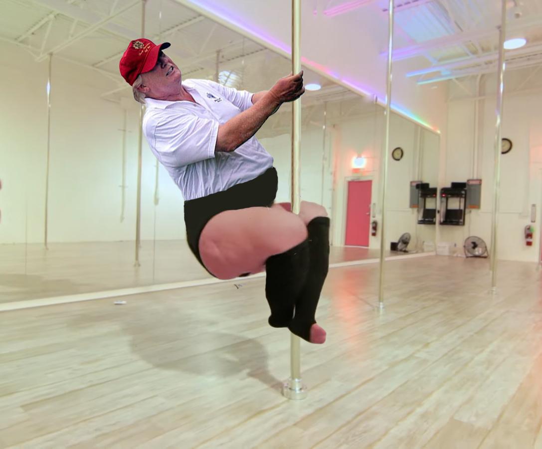 He's always said he's quite the swinger...