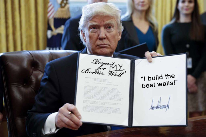He builds the best walls.