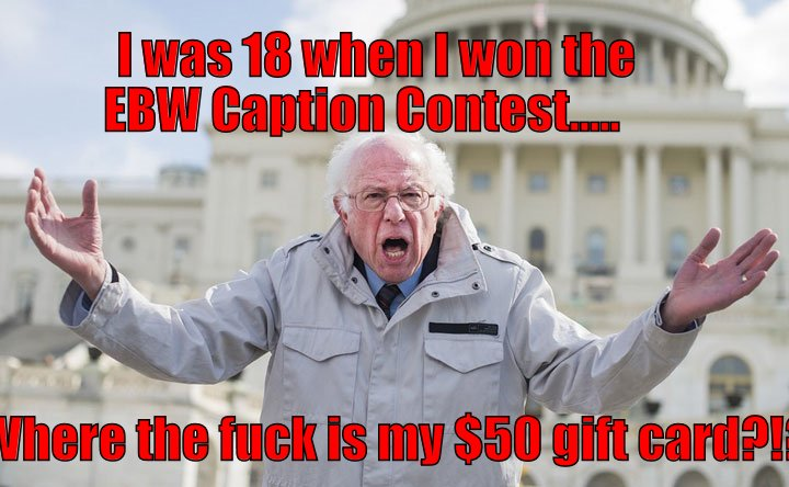 """Nobody ever wins when it's an EBW """"contest""""."""