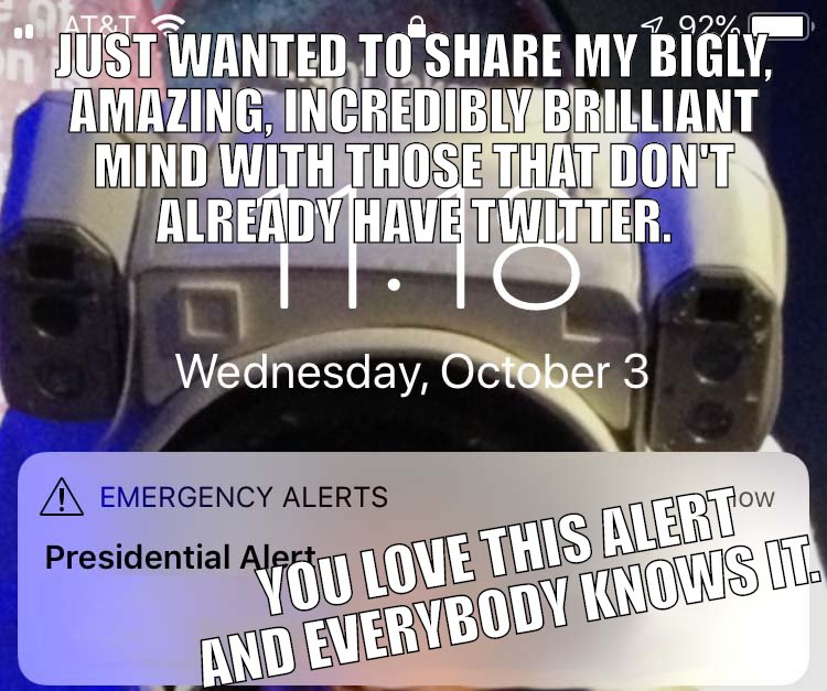 PRESIDENTIAL ALERT...WHAT TRUMP REALLY MEANT.