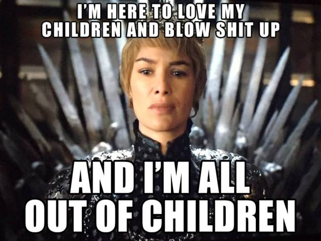 35 Fantastic Game Of Thrones Memes For Tonight S Epic Finale