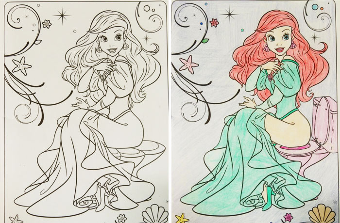 20 Coloring Book Pictures that Got Turned Naughty - Funny Gallery ...