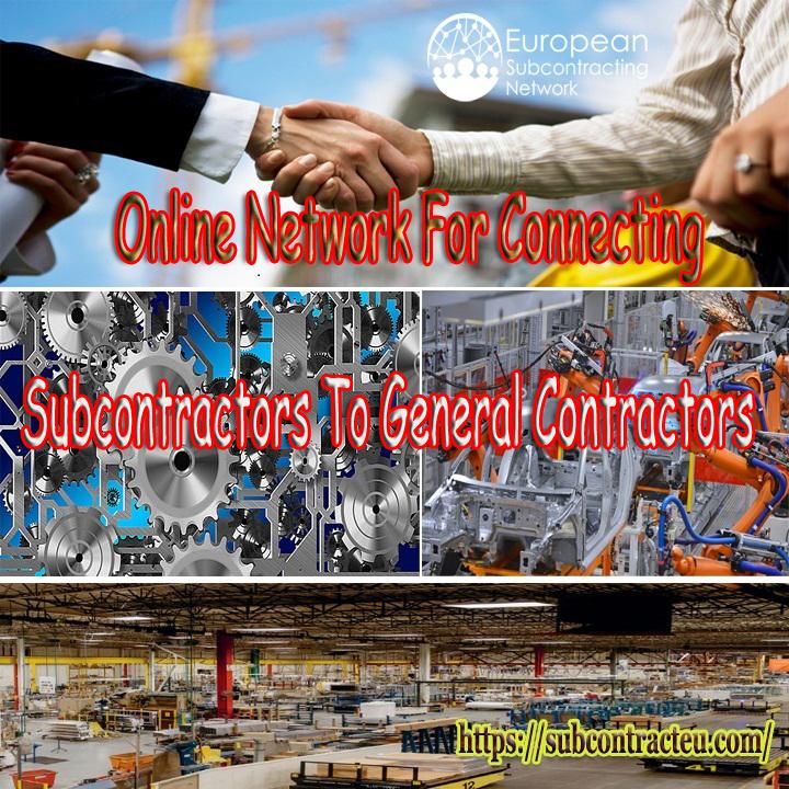 Find Online Contractors & Subcontractors | European