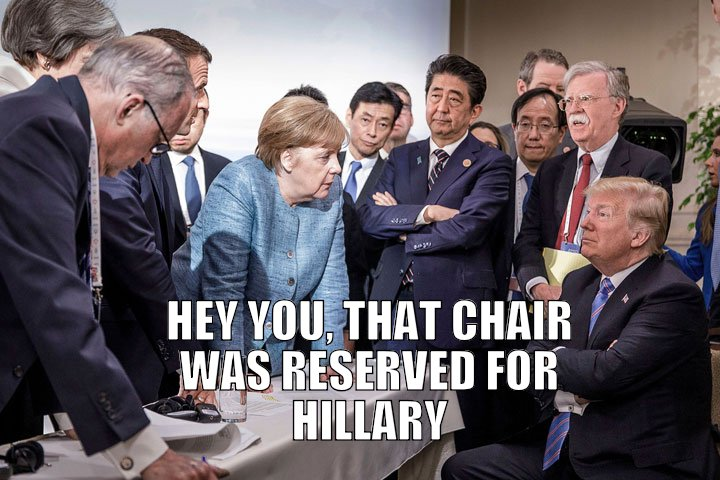 She thinks Hillary won and so does Hillary!