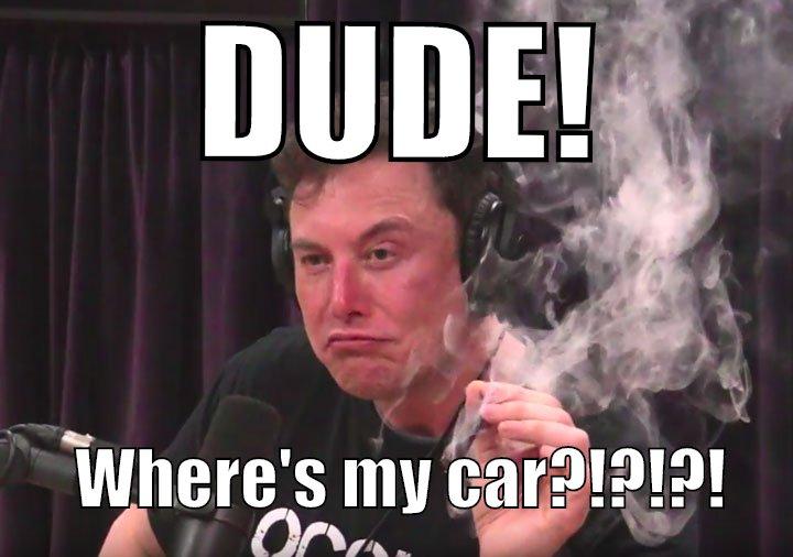 Dude! Where's my car?!?!?!