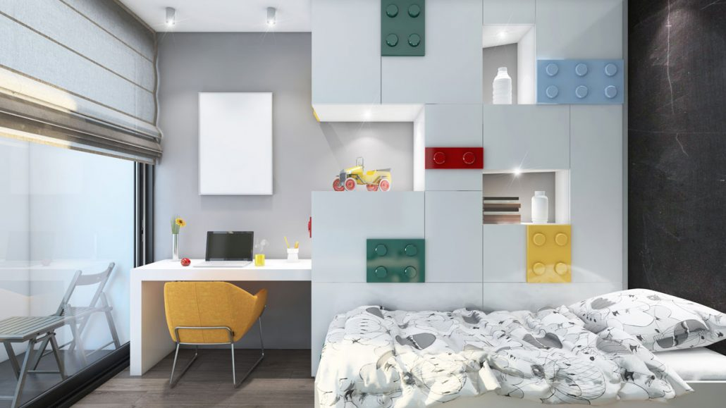 Perhaps the most personal of spaces, the #bedroom is a place where you let your guard down and seek #comfort for body and soul. Brighten up the whole room with our Youthful Lego Inspired Bedroom. And you can also browse our bedroom gallery on https://www.metrowardrobes.co.uk/bedrooms/