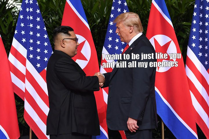 Embrace a dictator