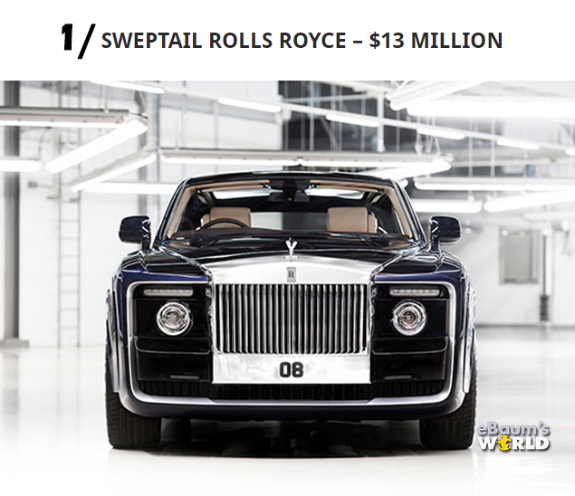 Most Expensive Car In The World >> Top 10 Most Expensive Cars In The World 2018 Wow Gallery