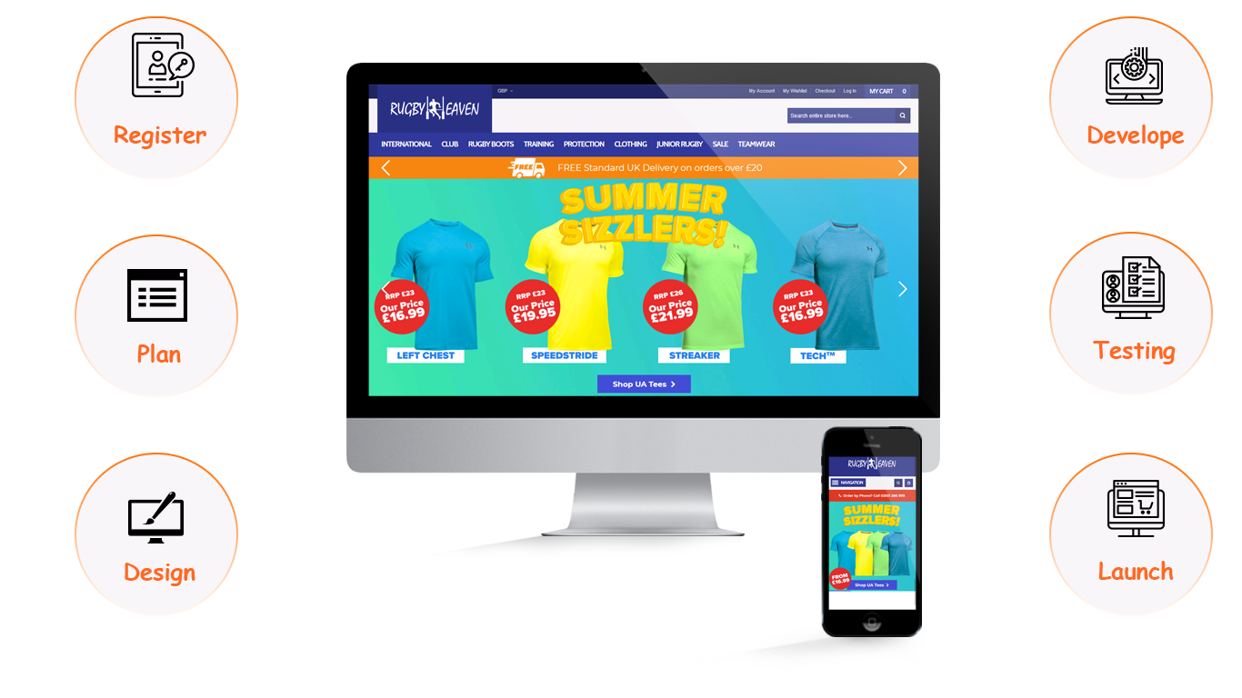 We are a specialized magento development company UK specializing in the development of successful Ecommerce sites.