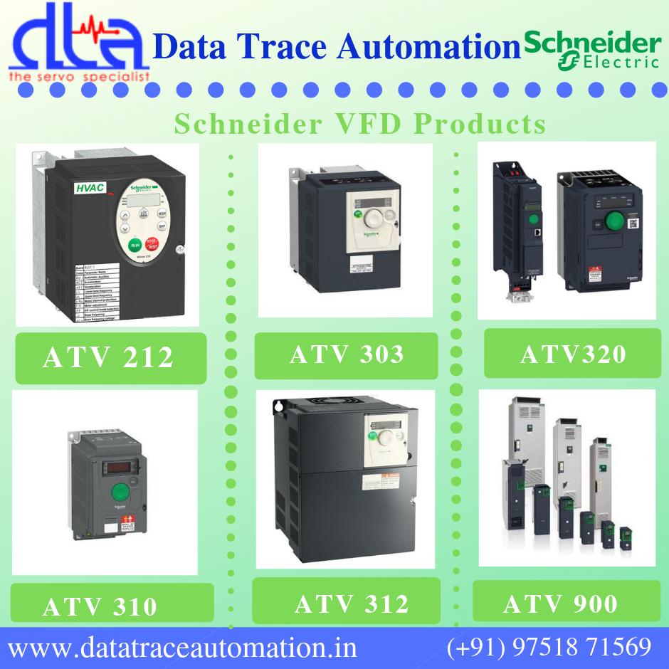 Schneider Electric VFD Altivar 212 in Chennai| ATV312, ATV310 | DTA