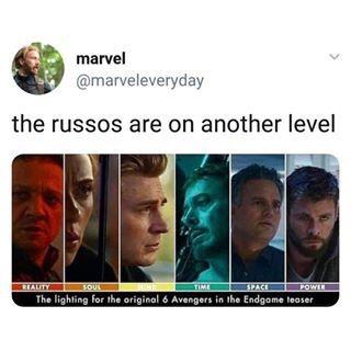 Marvel avengers endgame russos meme