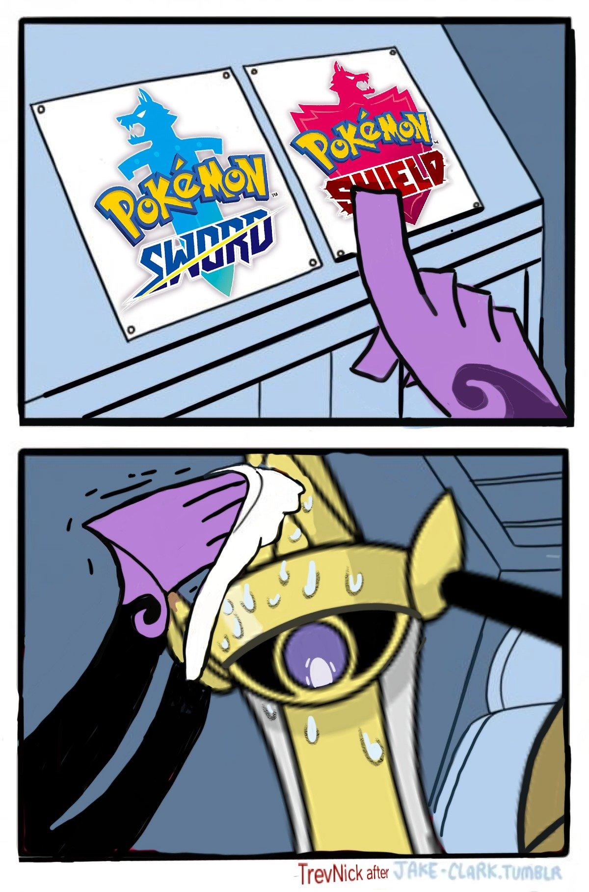 A Mini Meme Dump About The Next Generation Of Pokemon Funny