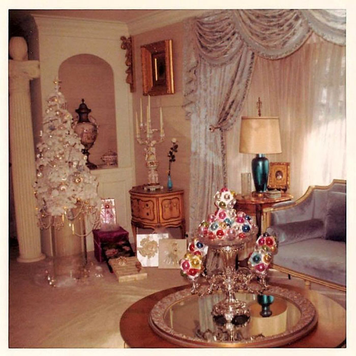 1960s Home Decor Late 12 36 Photos Of Christmas In The 1950s And