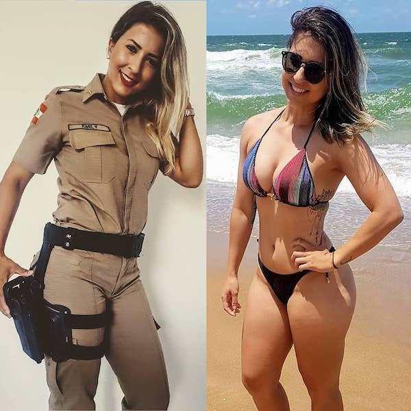 Sexy girls in uniform