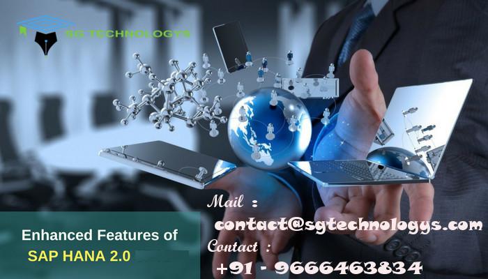 SAP HANA 2 0 Online Training, Installation & Administration | SG
