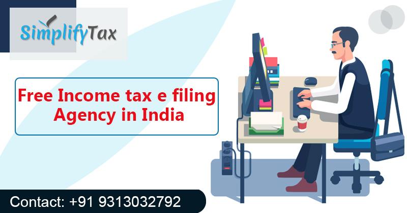 Income tax filing india free