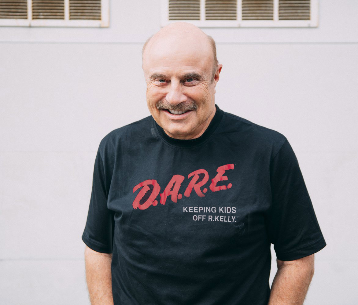 Dr. Phil spreading awareness!